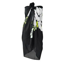 Women Sexy Swimsuit Coverup Sarong Pareo Beach Cover Up Scarf Swimwear Dress EF
