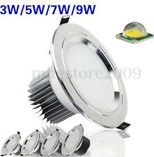 3W 7W 9W 12W 15W LED Dimmable Downlight Ceiling Recessed Light Bulb Lamp 85-265V