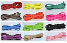 1, 3, 5 or 10 Meters Faux Suede Cord String Thong ~ Choice of Colours ~ 3x1.5mm