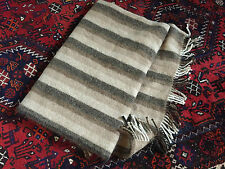 Pure Alpaca Throw Blanket - (Brown, Beige, Fawn) - 5ft by 6ft - Lot 6