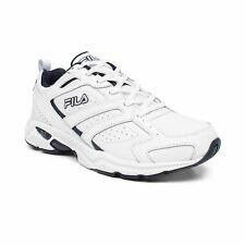 Fila CAPTURE Mens White Athletic Comfort Lace Up Cross Training Running Shoes