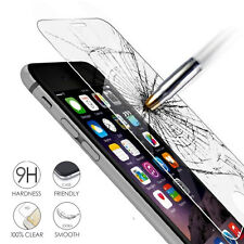 100% Genuine Tempered Glass 9H HD Screen Protector Film Guard For Apple iPhone