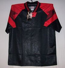 Black & Red Interroma Soccer jersey jerseys Youth Large Small Medium Large XL