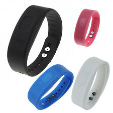 5X USB Bluetooth Incoming Call Vibrate Alert Anti-lost Band Bracelet DW