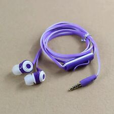 3.5mm In-Ear Flat Noodle Earbuds Earphone Headset Headphone For iPhone MP3 iPod