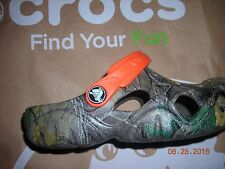 Youth Crocs realtree rubber clogs