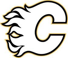 Calgary Flames cornhole board decal 1 set (2 decals)