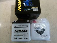 NUMAX 6N63B 6V 6 AH CLASSIC BRITISH   MOTORCYCLE BATTERY WITH ACID PACK