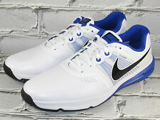 Mens Nike Lunar Command Spiked Golf Shoes Blue/White (Multiple Sizes)