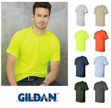 Gildan 2300 NEW Ultra Cotton T Shirt with a Pocket Men's Tee S - 5XL