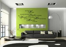 HOME BLESSED QUOTE VINYL WALL DECAL STICKER ART -DECOR