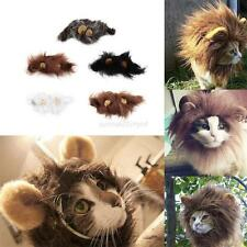 Pet Hat Costume Cute Lion Mane Cat Hat Wig Cosplay Lion Stuffed Plush With Ears
