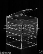Jewelry Storage Case Acrylic Organizer Drawer Display