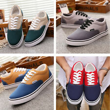 2016 New Fashion Mens Flats Running Low Top Casual Sneaker Splice Lace Up Shoes