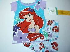 New Disney Princess Ariel girls Toddler pajamas 9M 12m 18m 24m  pajamas