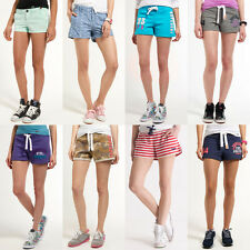 New Womens Superdry Shorts - Various Styles & Colours