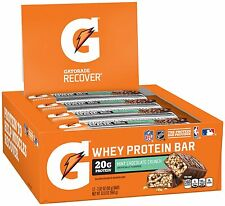 Gatorade Whey Protein Recover Bars 2.8 oz, 12 Count FREE Shipping!