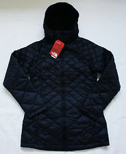 New The North Face Womens Transit Down Diamond Quilted Hoodie Jacket S - M