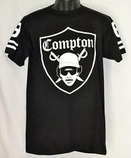 NWA Eazy E Compton Raider Shield Black Tee - Men's Size M