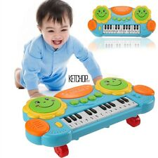 Electronic Baby Kids Music Instrument Toy Battery Organ Keyboard Hand Beat KECP