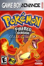 RGC Huge Poster - Pokemon FireRed Version Nintendo Game Boy Advance GBA - GBA067