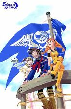 RGC Huge Poster - Skies of Arcadia Legends Sega DreamCast GameCube - EXT424