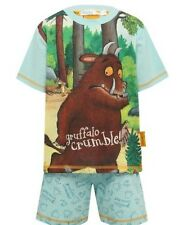 Boys gruffalo grumble pyjamas shorts set 3-4&5-6yrs bnwt