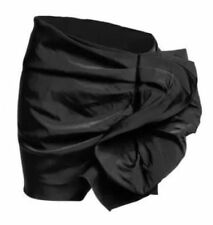 NWT LANVIN FOR H&M HM BLACK RUFFLE MINI SKIRT 34 36 38 4 6 8 10 12 RARE!