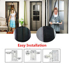 Mesh Insect Fly Bug Mosquito Door Curtain Net Netting Mesh Screen Magnets F5