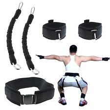 5Pcs Vertical Jump Trainer Leap Training Resistance Band Fitness Equipment Set