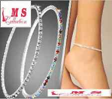 Spring and summer Anklets Foot Chain Rhinestone Crystal Bracelets jewellery.