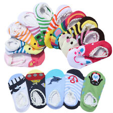 Nice 6-24 Months Cute Unisex Baby Toddler Girl Boy Anti-Slip Socks Shoes Slipper