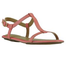 NEW Clarks Risi Hop Shoes Womens Sandals Real leather sandal Rosa 26108861 SALE