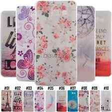 For Samsung Various Rubber Shockproof TPU Soft Protective Case Cover Back Skin