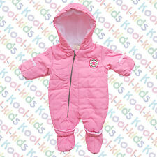 CONVERSE PINK BABY GIRLS SNOW SUIT - BNWTS