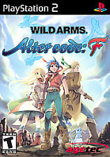 Wild Arms: Alter Code F (Sony PlayStation 2, 2005)complete