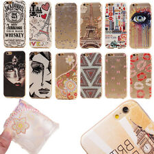 New Slim Classic Pattern Case Soft Ultra Thin TPU Cover Skin For Apple iPhone