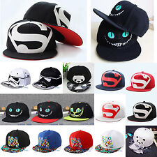 Men Women Sports Sun Hat Baseball Cap Adjustable Cosplay Dance Hippy Snapback