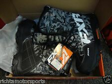 NEW FXR X Cross Men's Snowmobile Boots ~ Size 13 ~ Grey Urban Camo - 16508.20013