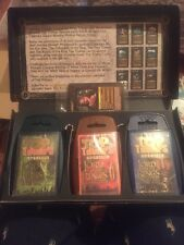 Lord of the Rings Top Trumps Limited Edition Trilogy & STT (box Damaged)