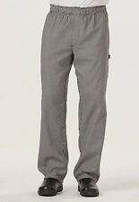Houndstooth Dickies Men 's Traditional Baggy Zipper Fly Chef Pants DC14 HDTH