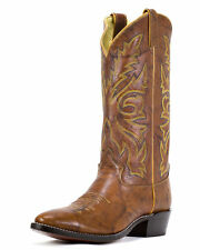 MEN'S JUSTIN MARBLED CHESTNUT COWBOY WESTERN BOOTS 1560 ~ MADE IN USA
