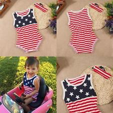 Toddler Kids Baby Girls Boys Romper Jumpsuit Bodysuit Clothes Outfits Set 2-24M
