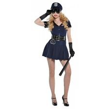 Sexy Police Costume Adult Female Cop Halloween Fancy Dress