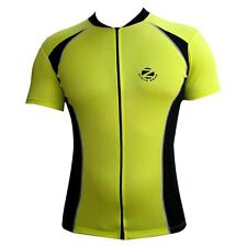 Zimco Men Cycling Jersey Biking Short Sleeve Jersey/Shirt Cycle Jersey Yellow