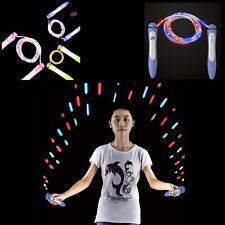 New Color Changed Jump Rope Luminescence Skipping Exercise Sport Tools F5