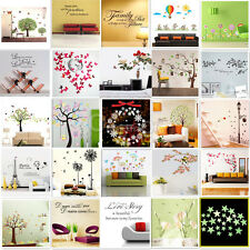WALL STICKERS! Removable Decal Transfer Interior Home Art Vinyl Decor Quote