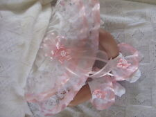 DREAM BABY PINK STAR KNICKERS AND SOCKS SET ALL SIZES AVAILABLE OR REBORN