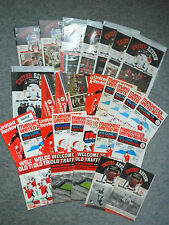 Manchester United Football Programmes 64-96