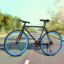"26""Fixie road bike fixie bicycle single speed fixed gear Flip Flop Hub US Seller"